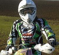 Audrey Rossat a repris la moto