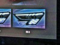 Un drapeau à damier dans le regard de la nouvelle Audi RS3