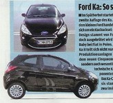 Nouvelle Ford Ka: c'est elle!