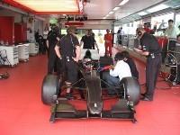 Ferrari d'A1GP: Premiers tours de roue