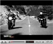 Vidéo : Trash Test - Episode #2 ... Suzuki GSX-R 600 vs Yamaha R6