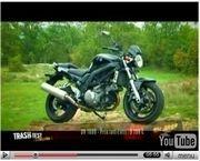 Vidéo : Trash Test - Episode #3 ... Suzuki SV650 N vs Suzuki SV1000 N