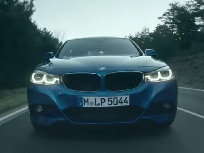 BMW Série 3 Gran Turismo restylée : la voici en mouvement