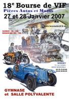 Grenoble : Bourse d'échange de pièces détachées les 27 et 28 janvier