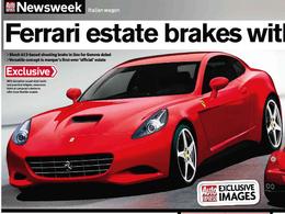 Salon de Genève 2011 - Un break de chasse Ferrari?