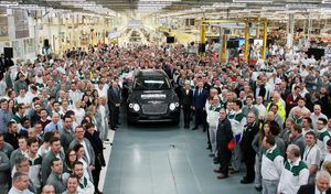 """Bentley """"menacé"""" par la direction du groupe Volkswagen, qui attend des bénéfices"""
