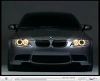 BMW M3 Concept en vidéo