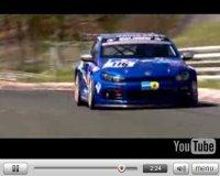 Vidéo pub :  Volkswagen Scirocco GT24