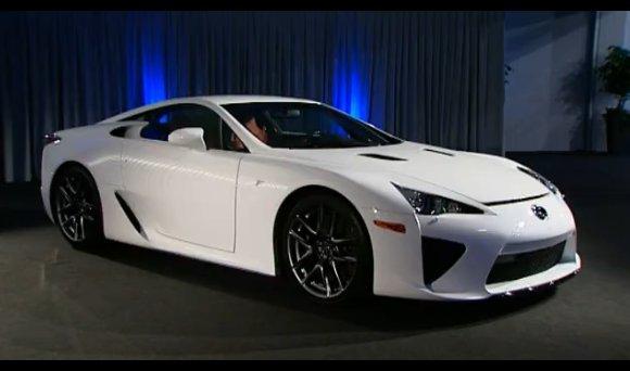 [vidéo son et lumières] voici la nouvelle Lexus LFA