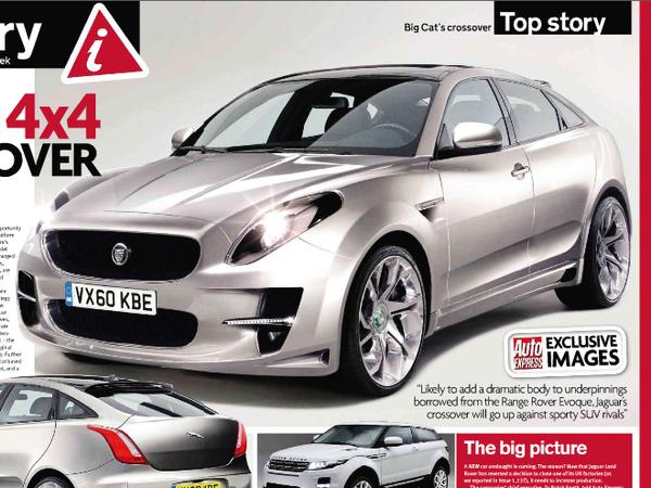 Futur Jaguar SUV: comme ça?