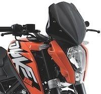 La KTM Duke 125 part en voyage avec Givi
