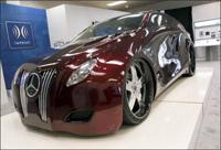 Mercedes RLS by Alpine: Liquid style