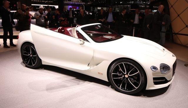 La cinquième Bentley sera finalement une électrique