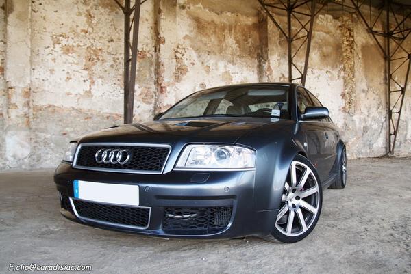Photos du jour : Audi RS6-R MTM V8 Biturbo