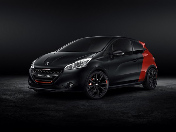 mondial 2014 peugeot annonce le prix de la 208 gti 30th. Black Bedroom Furniture Sets. Home Design Ideas