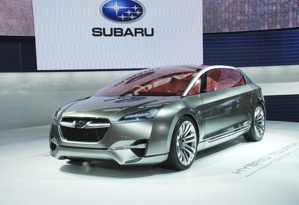 Tokyo 2009 : la Subaru Hybrid Tourer en vidéo