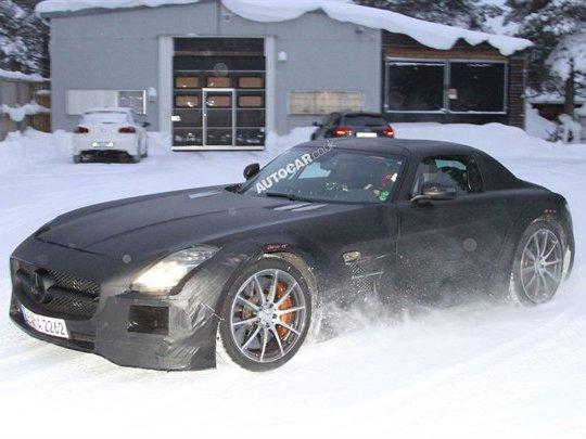 Photos volées - Mercedes SLS AMG Black Series