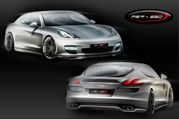 Porsche Panamera Turbo par SpeedART : une de plus