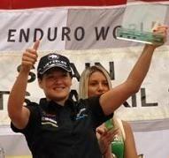 Mondial d'enduro en Espagne : Féminines, Puy-Sanz ; 2-0