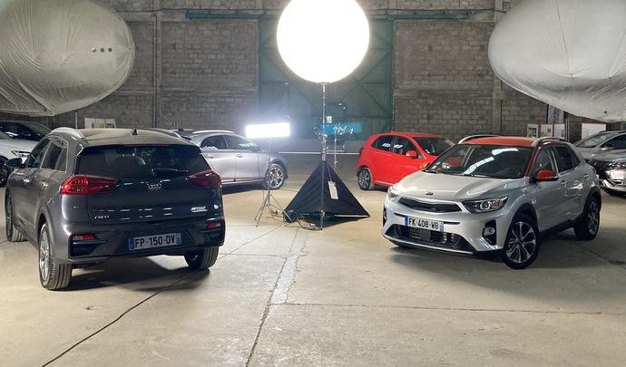 Salon de l'auto Caradisiac - Le stand Kia: SUV et électricité
