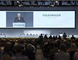 Volkswagen: une assemblée générale sous haute tension
