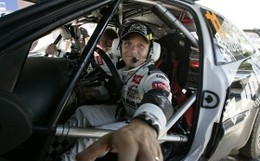 WRC Grande Bretagne Shakedown : Petter Solberg fait parler la poudre (et sa C4 WRC)