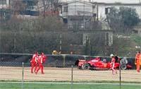 Felipe Massa casse sa nouvelle F2007