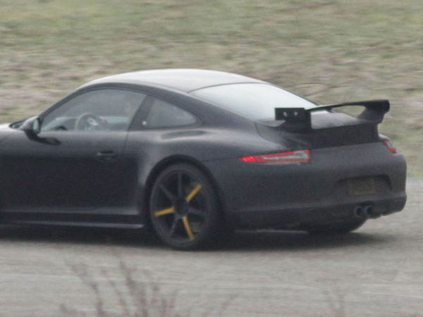 Future Porsche 911 GT3: c'est elle!
