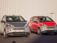 Des Bluecar d'Autolib' à nouveau à vendre à prix cassé