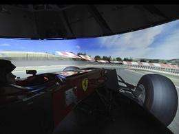Idée cadeau: Le simulateur F1 Ferrari à 6 millions de $ !