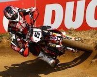 Supermotard championnat du monde 2011, Adrien Chareyre : Busca façon douche écossaise…