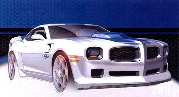 SEMA Show 2009 : LPE Camaro LTA 455 Concept, une Pontiac ...