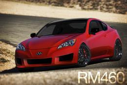 SEMA Show 2009 : RM460 Genesis Coupe, Rhys Millen se fabrique sa Hyundai