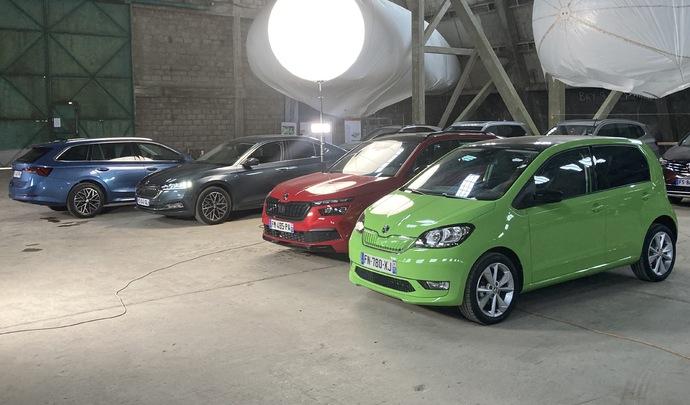 Salon de l'auto Caradisiac - Le stand Skoda: à l'est du nouveau