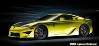 Lexus LFA : déjà le tuning par 889Speedshop