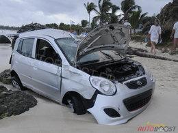 Crash sablé à St Martin ou comment trouver une excuse pour acheter la nouvelle Kia Picanto