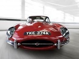 La Jaguar Type E fête ses 50 ans en 2011