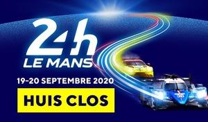 Les 24 Heures duMans 2020 se dérouleront sans public