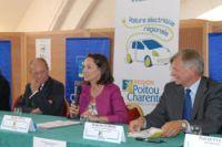 Ségolène Royal milite pour la voiture électrique régionale !