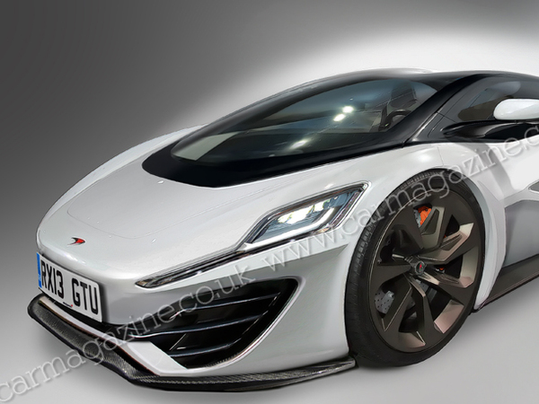 V8 3,8 litres biturbo pour la remplaçante de la McLaren F1