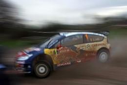 WRC Grande Bretagne Jour 1 : Loeb en tête d'un souffle