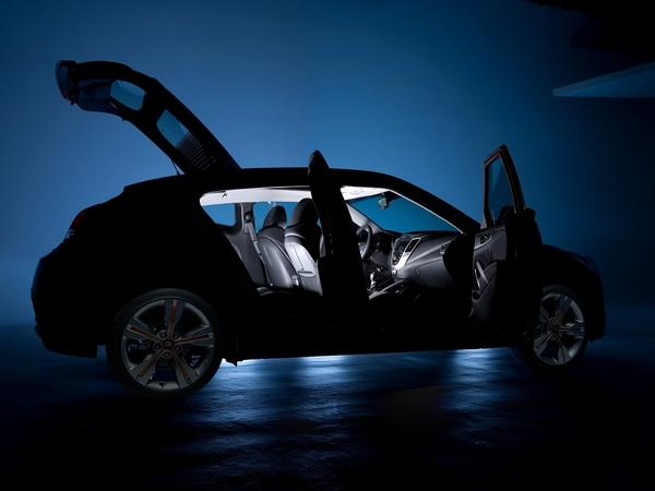 Futur Hyundai Veloster : mises en bouche