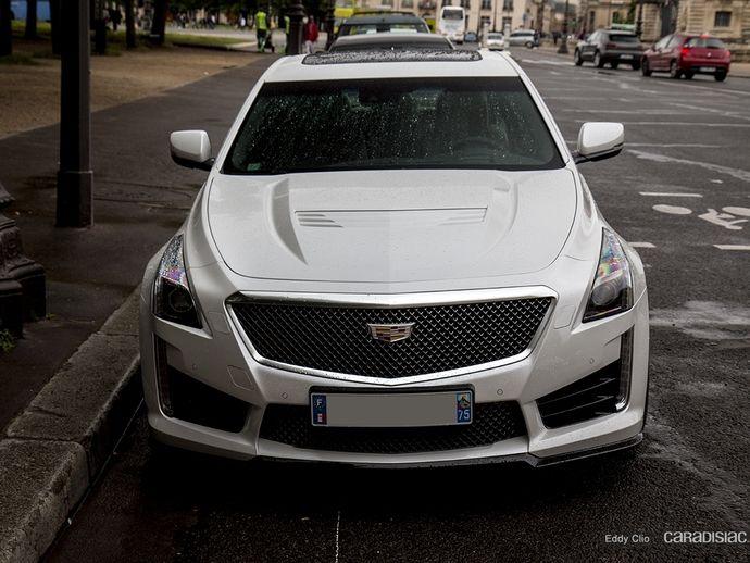 Photos du jour: Cadillac CTS-V