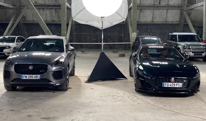Salon de l'auto Caradisiac 2020 - Le stand Jaguar: raison et passion