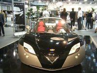 La Venturi Fétish 2009, dotée du moteur électrique VM 300. Il envoie du gros !