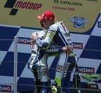 Moto GP - Catalogne: Lorenzo s'incline avec la manière