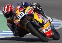 GP125 - Test Jerez D.2: Marquez préserve l'invincibilité Derbi