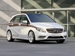 Mercedes Classe B E-Cell : la version de série au Salon de New-york ?