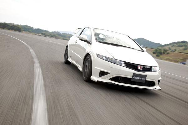 Honda Civic Type R Mugen 240 chevaux : seulement 20 exemplaires pour l'Europe