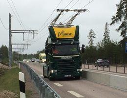 La Suède teste la caténaire pour les poids lourds